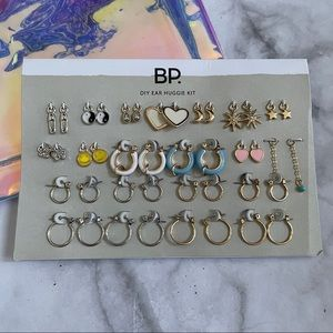 BP DIY Mixed Charm Ear Huggie Kit